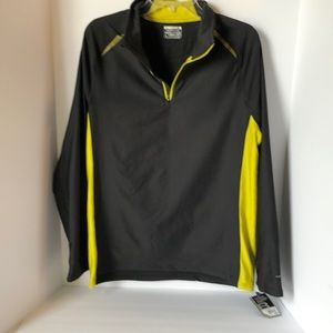 Layer 8 Qwick dry 3/4 zip Mens pullover